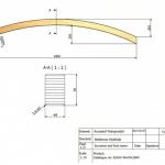 40x70x1800 Rw-2034 - rysunek techniczny