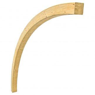 łuk konstrukcyjny drewniany